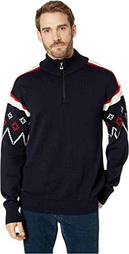 748c55c0bbbe Dale of Norway. Hovden Sweater.  222.99MSRP   279.00.  C-Navy Raspberry Off-White
