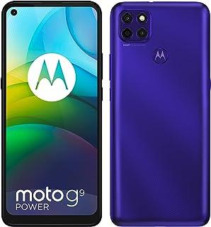 Motorola Moto G9 Power Dual-SIM 128GB ROM + 4GB RAM Factory Unlocked Android Smartphone (Electric Violet) - International ...
