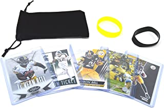 Le'Veon Bell Football Cards Assorted (5) Bundle - Pittsburgh Steelers Trading Cards
