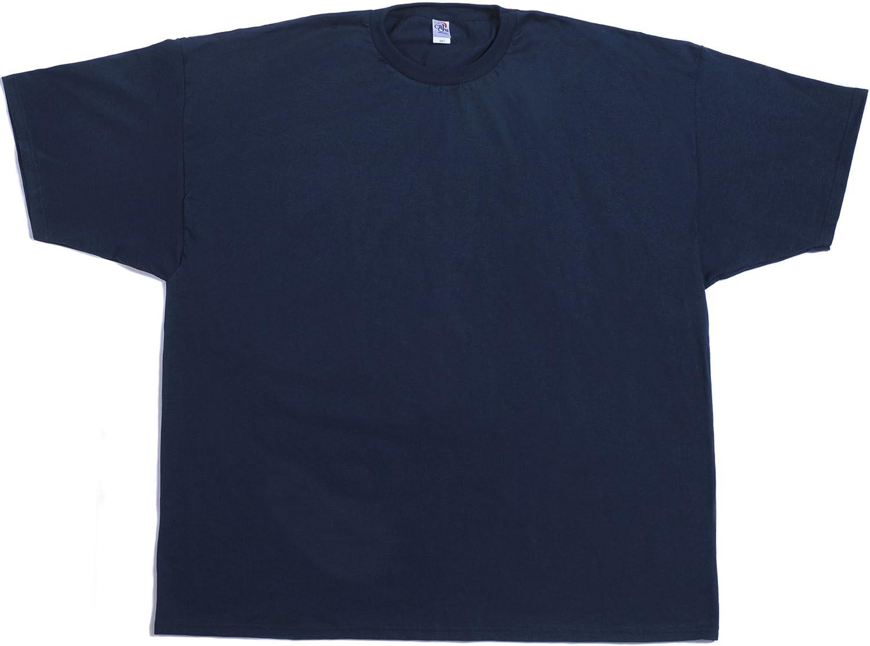 Cal Cru Men's Big and Tall Short Sleeve t-Shirt. 100% Cotton