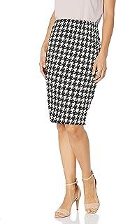 Star Vixen Women's Petite Below-Knee Pencil Skirt with Back Slit
