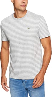 Lacoste Men's Crew Neck Stripe Tee