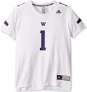 adidas NCAA Washington Huskies Women's Replica Jersey, White, Large
