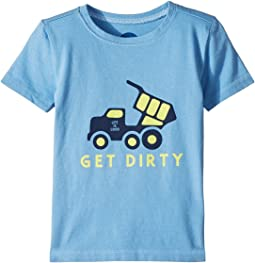 Life is Good Kids Get Dirty Crusher Tee (Toddler)