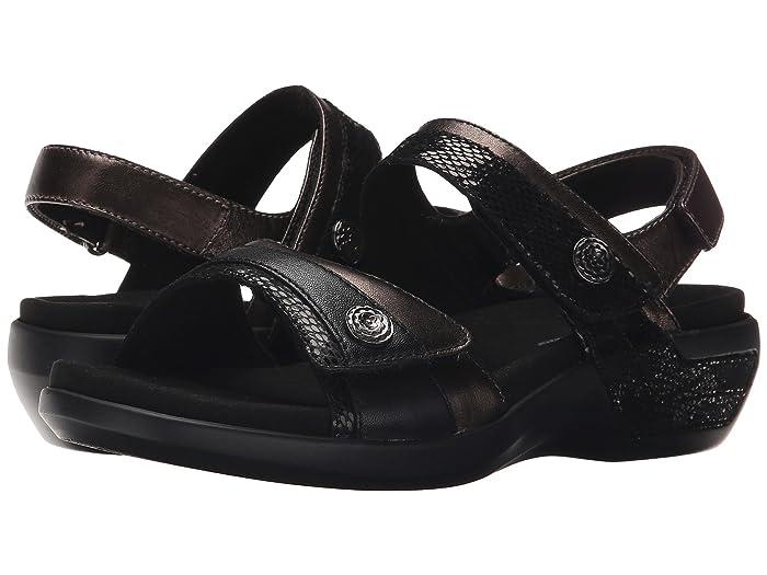 Aravon  Katherine-AR (Black Multi) Womens Sandals