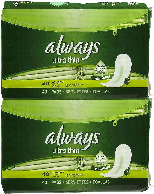 ALWAYS Washington Mall Price reduction 16CT ULTRA THIN LONG SUPER of packs 12 WINGS Sanitary Pad