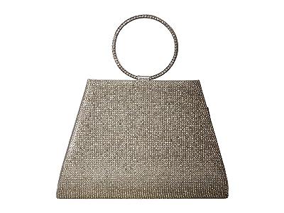 Jessica McClintock Serena (Silver) Clutch Handbags