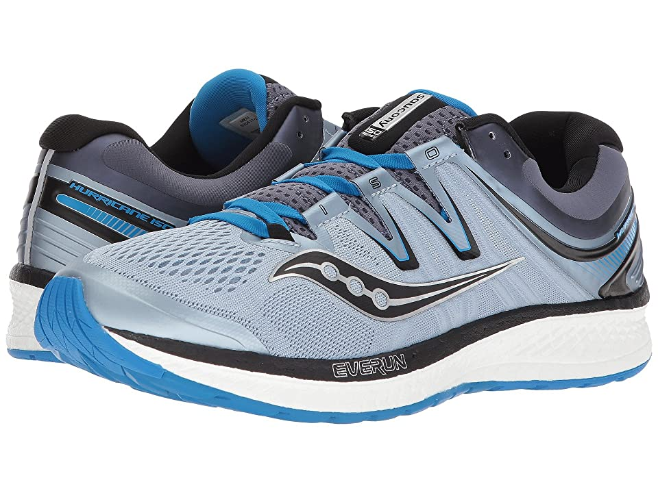 Saucony Hurricane ISO 4 (Grey/Blue/Black) Men
