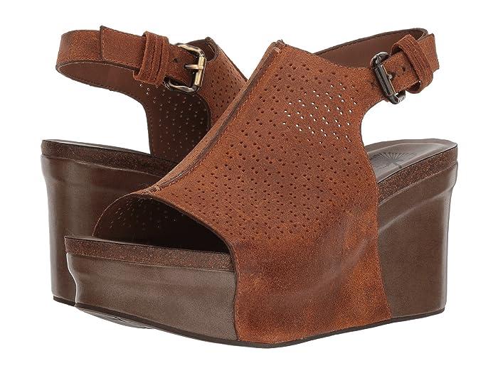 60s Shoes, Boots OTBT Jaunt New Tan Womens Wedge Shoes $98.95 AT vintagedancer.com