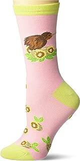 Women's Playful Wildlife Novelty Fashion Crew Socks