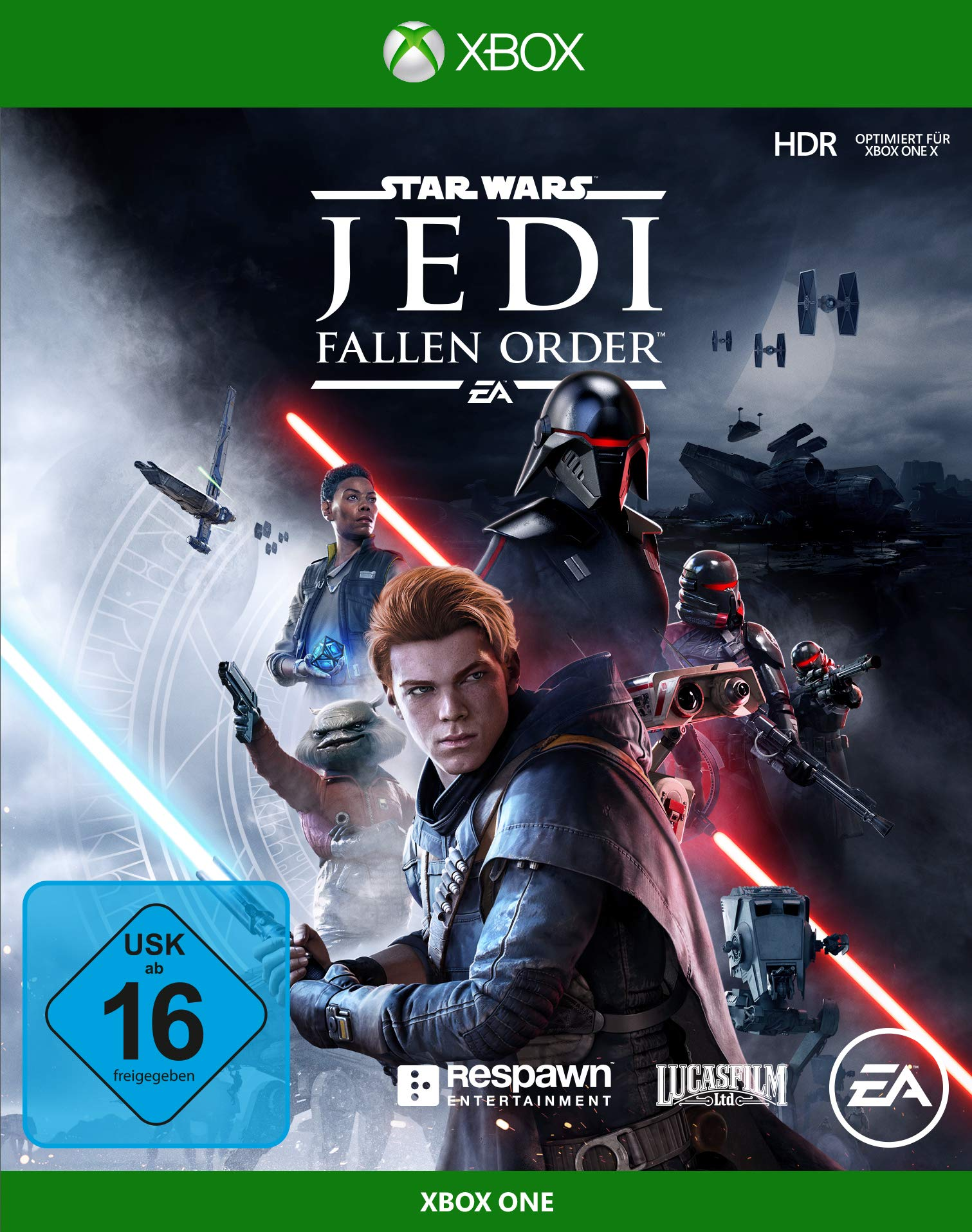 Star Wars Jedi: Fallen Order - Standard Edition - Xbox One [Importación alemana]: Amazon.es: Videojuegos