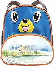 Design Your Own Image Child Waterproof School Bag Boy Girl Dog cartoon Backpack