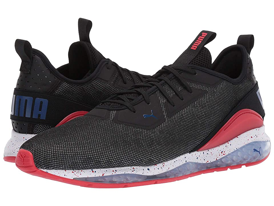 PUMA Cell Ultimate Descend Shift (Puma Black/High Risk Red/Surf the Web) Men