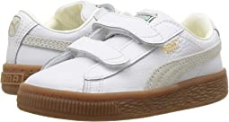 Puma Kids Basket Classic Gum Deluxe (Toddler)