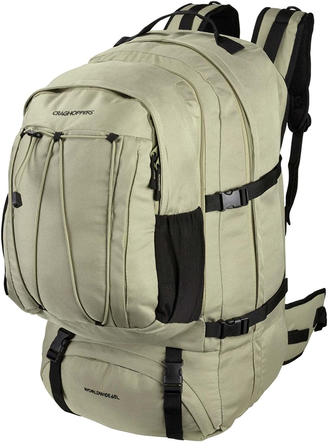 Craghoppers Outdoor Worldwide 65L Rucksack (UK Size  One Size) (Pebble)