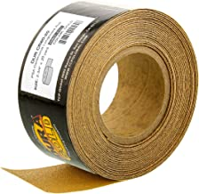 Dura-Gold - Premium - 80 Grit Gold - Longboard Continuous Roll 20 Yards long by 2-3/4