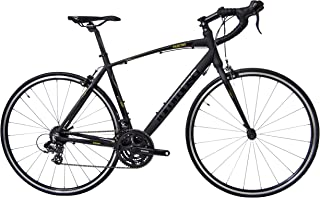 Tommaso Fascino - Sport Performance Aluminum Road Bike, Shimano Tourney, 21 Speeds, Matte Black