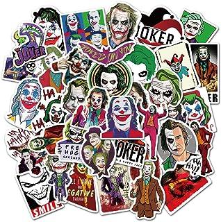 Joker Waterproof Stickers of 50 Merchandise Laptop Stickers for Laptops, Computers, Hydro Flasks, Skateboard and Travel Case