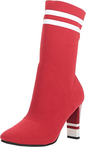 Circus Circus Circus by Sam Edelman Wohommes Joy Fashion démarrage, Dark rouge Stretch Knit, 9.5 M US 4c8