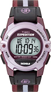 Unisex Expedition Classic Digital Chrono Alarm Timer Mid-Size Watch
