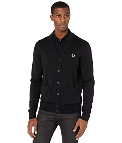 Fred Perry Classic Cardigan (Black) Men