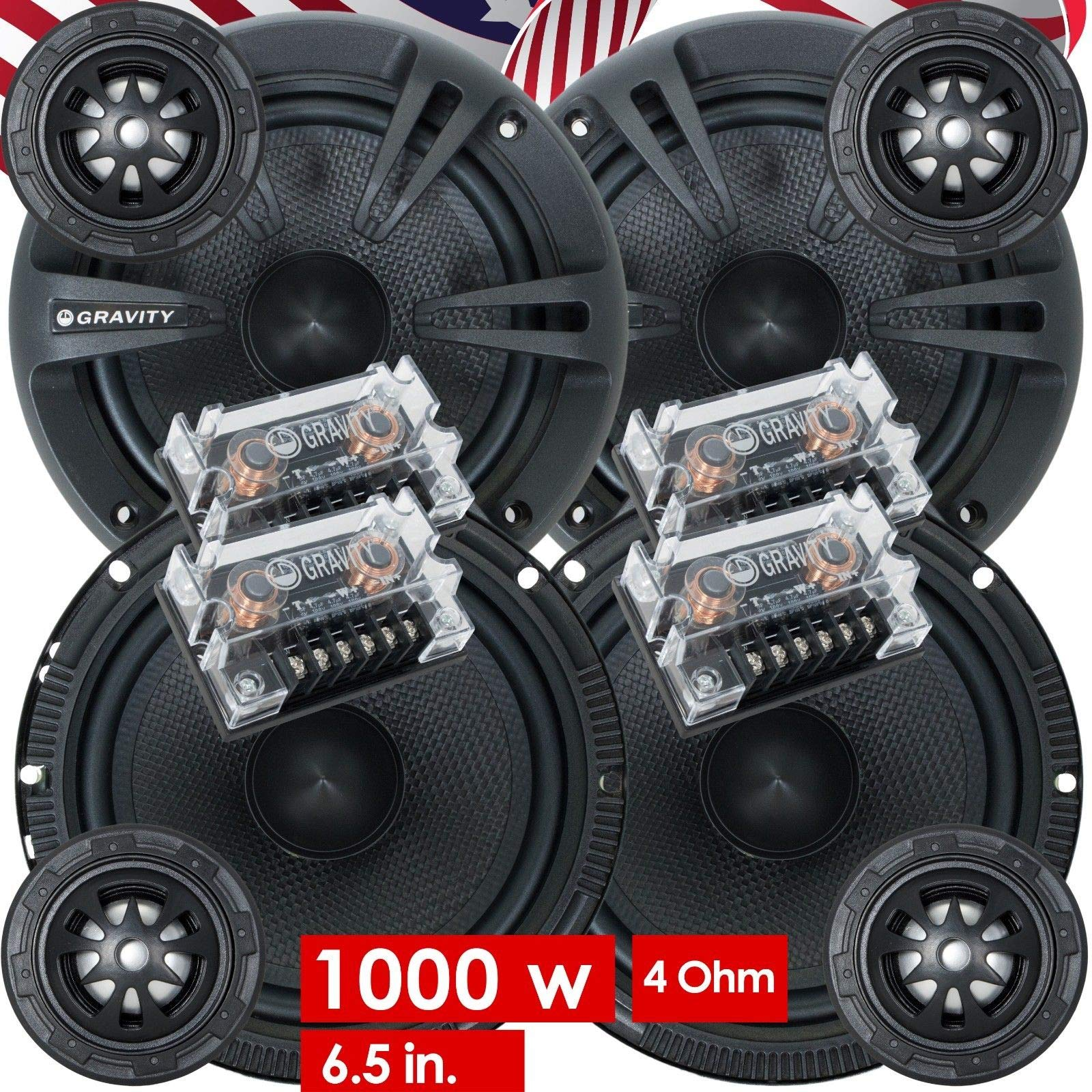 Pairs Gravity Audio Component Crossovers