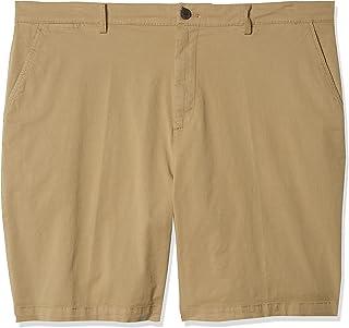 Goodthreads Hombre Pantalón corto chino elástico, cómodo, sin pinzas, de 23 cm y ajuste entallado