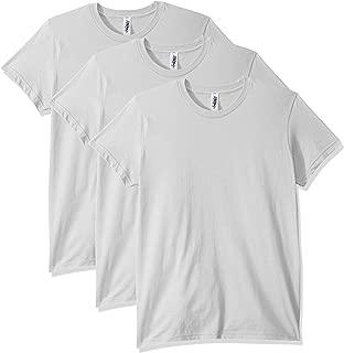 Marky G Apparel Womens AMAP-2102W-3PK Fine Jersey Short-Sleeve T-Shirt - 3 Pack Short Sleeve T-Shirt