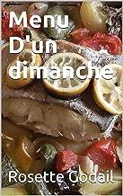 Menu D'Un Dimanche (Menu D'Un Jour t. 2) (French Edition)