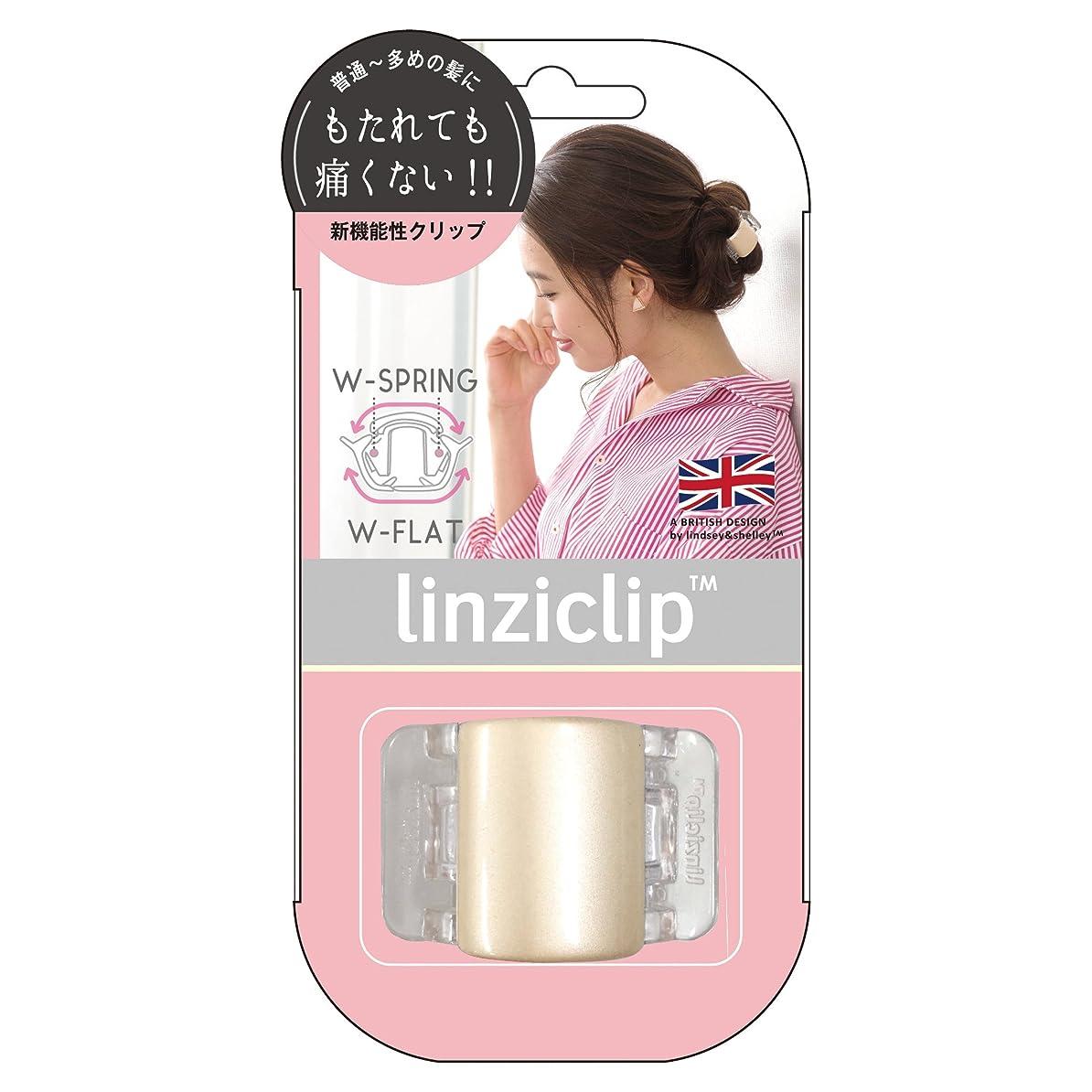 ブランド名どうやってパッケージラッキーウィンク リンジークリップM (1P) LNZ 681 クリーム (1個入)