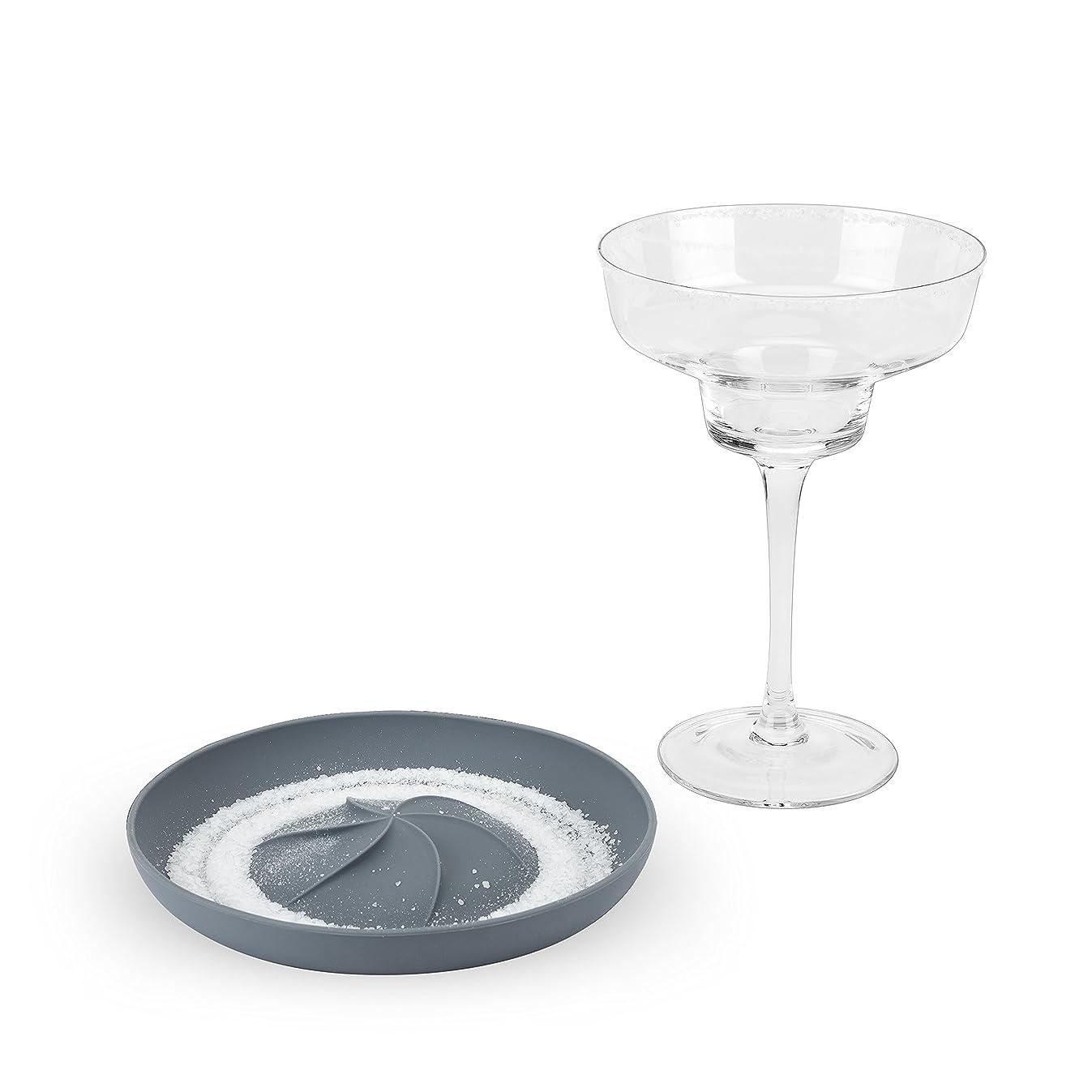 True 7386 Frill Cocktail Rimmer, Gray