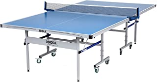 JOOLA NOVA - Outdoor Table Tennis Table with Waterproof Net Set - 10 Minute Easy Assembly - All Weather Aluminum Composite Outdoor Ping Pong Table - Tournament Quality - Indoor & Outdoor Compatible