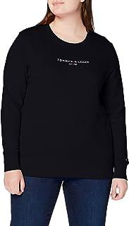 Tommy Hilfiger TH ESS Hilfiger C-nk Sweatshirt Suéter para Mujer