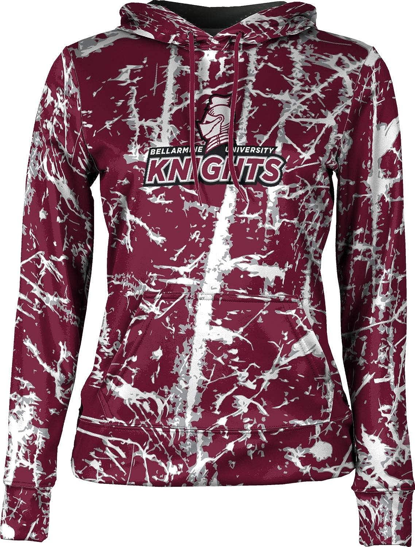ProSphere Bellarmine University Girls' Pullover Hoodie, School Spirit Sweatshirt (Distressed)