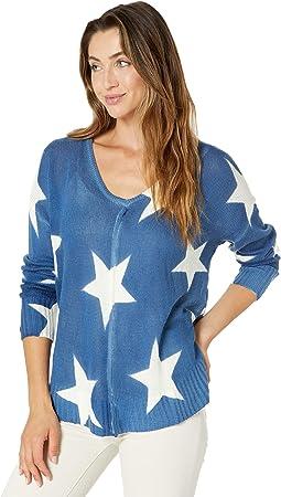 Long Sleeve Oversized Star Sweater 46-9950
