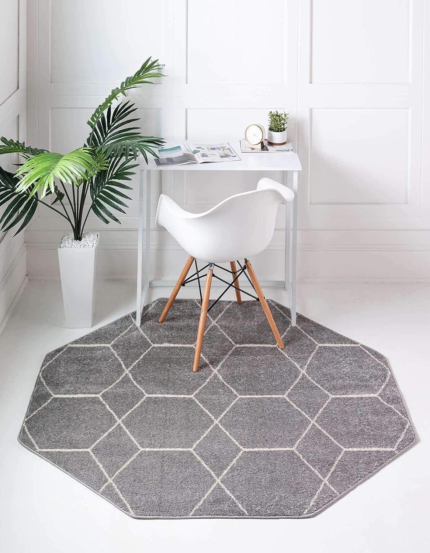 Unique Loom Trellis Frieze Moroccan Collection Geometric Lattice 5☆好評 高品質新品