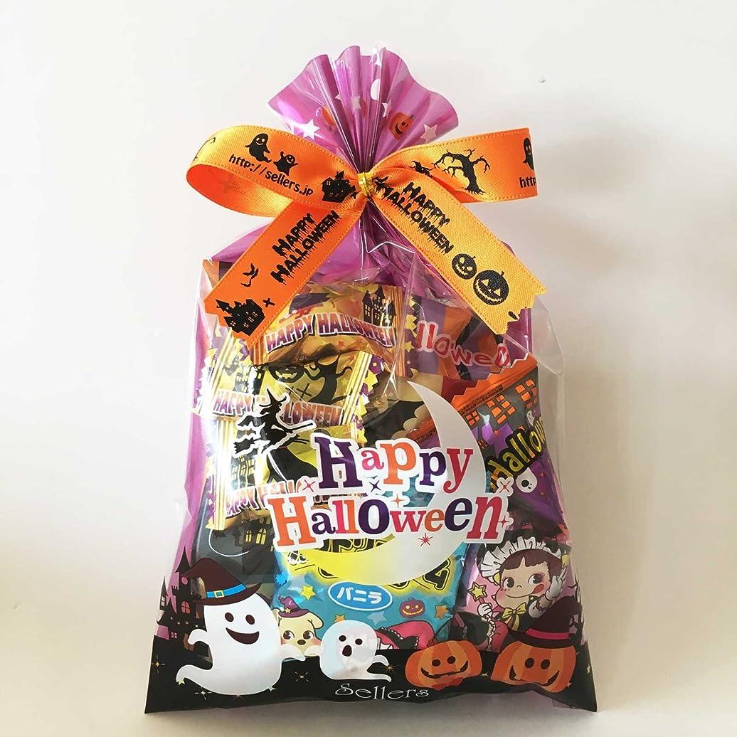 ポインタ可聴プレゼンターハロウィンお菓子 詰め合わせ ハロウィンお菓子袋 ハロウィン巾着(M)20個入り