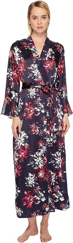 Oscar de la Renta Pink Label - Dahlia Floral Robe