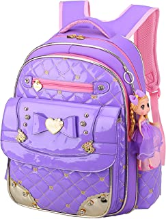 Bookbag for Girls,Gazigo Waterproof Girls Backpack with bows Back to School Gifts