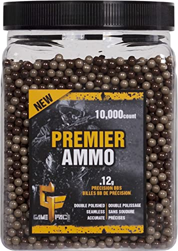 Game Face Crosman 10000 Ct. Camo Ammo 12gram AirSoft BBs, Multi, One Size