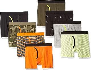 Amazon Essentials Boys' 8-Pack Boxer Brief