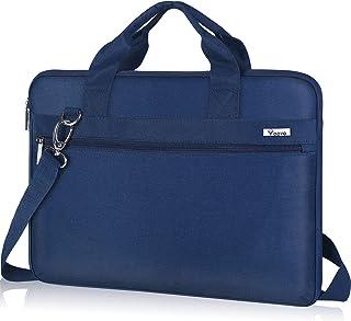 Voova 360°Schutz Laptoptasche 17 17.3 Zoll, Laptop Tasche Hülle mit Schulterriemen, Wasserdicht Notebooktasche Schultertas...