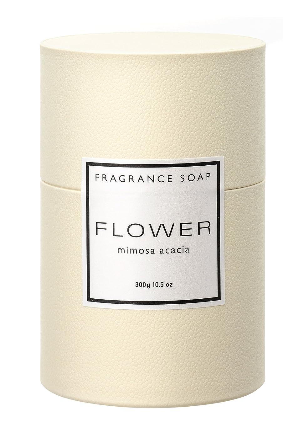 熱意寝る不安タマノハダ フラワー フレグランスソープ ミモザアカシア 100g×3