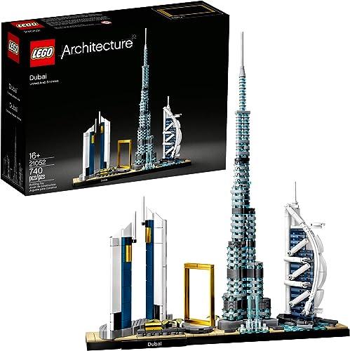 2021 LEGO Architecture outlet online sale Skylines: Dubai 21052 Building discount Kit, Collectible Architecture Building Set for Adults (740 Pieces) outlet online sale