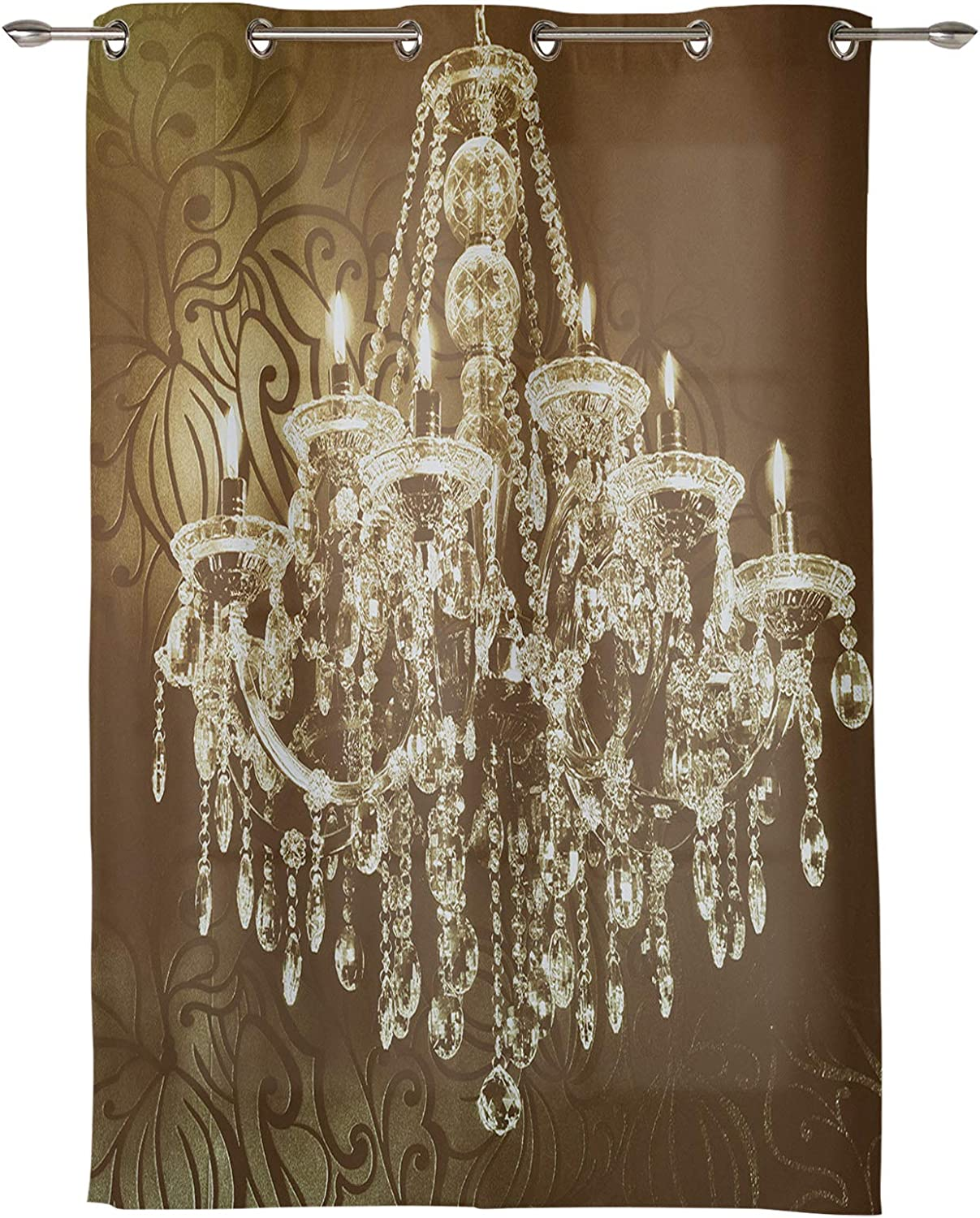 EZON-CH Window Curtain with Grommet 2021new shipping free shipping Crystal Pain New life Oil Chandelier