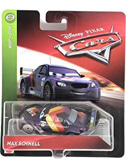 Disney/Pixar Cars Max Schnell WGP - GPM Series 1:55 Scale Collectible Die Cast Model Car