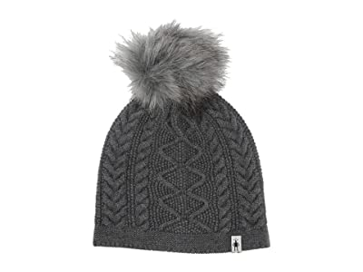 Smartwool Bunny Slope Beanie (Medium Gray Heather) Beanies