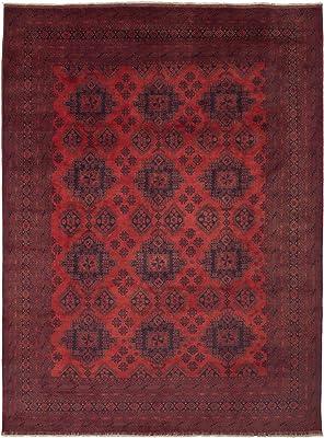 Amazon Com Karastan Multi Panel Kirman Rug Rug Size 8 8 X 12