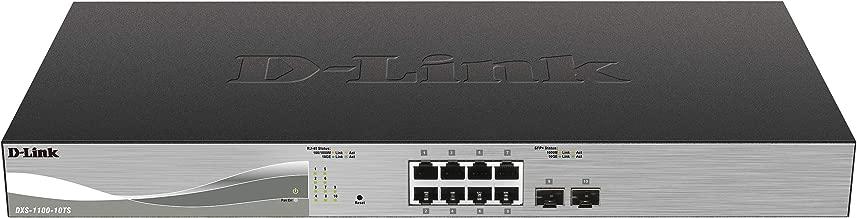 D-Link 10-Port 10-Gigabit Ethernet Smart Managed Switch (DXS-1100-10TS)