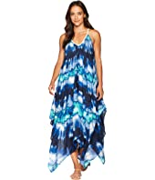 Tie-Dye Cover-Up Dress